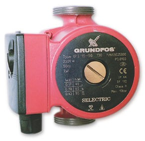 GRUNDFOS SUPER SELECTRIC UPS 15 60 CENTRAL HEATING PUMP